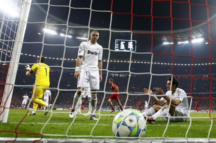 Desilusão entre os madridistas, no 2º golo do Bayern