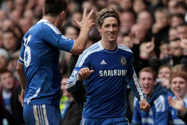 """Chelsea vence com goleada e """"hat-trick"""" de Fernando Torres"""