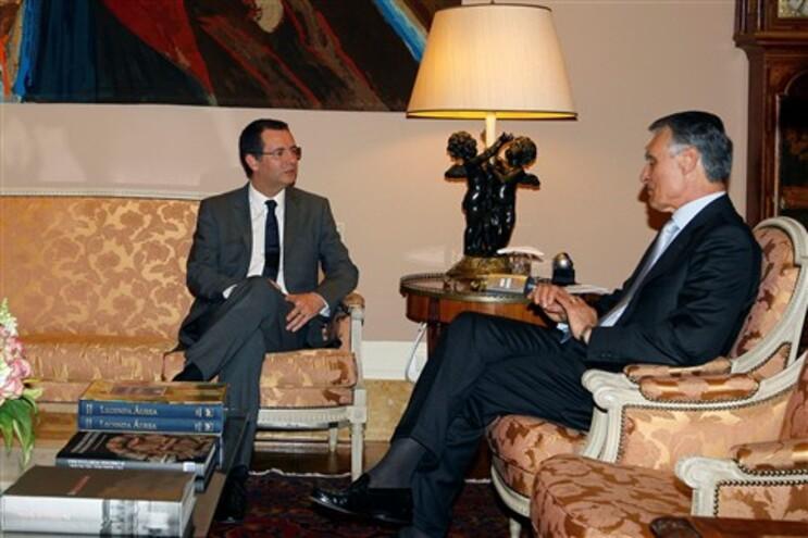 António José Seguro foi, esta quinta-feira, recebido pelo presidente da República