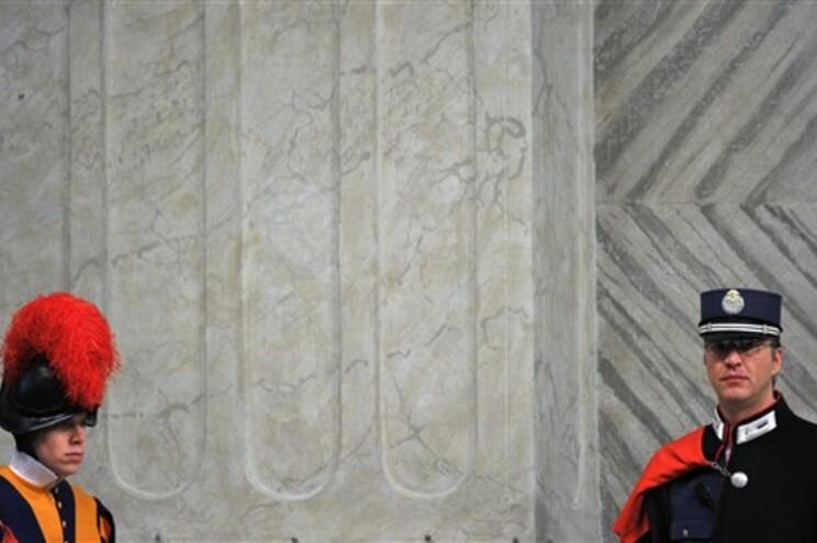 A polícia do Vaticano deteve Gabriele na quarta-feira
