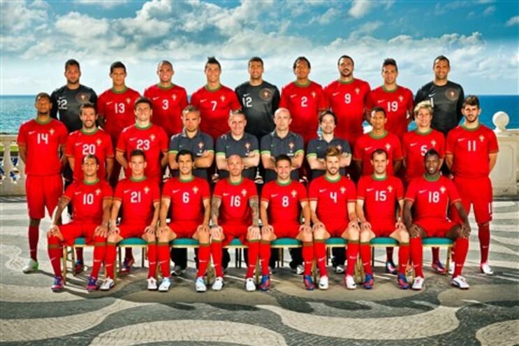 Seleção Nacional que estará presente no Euro2012