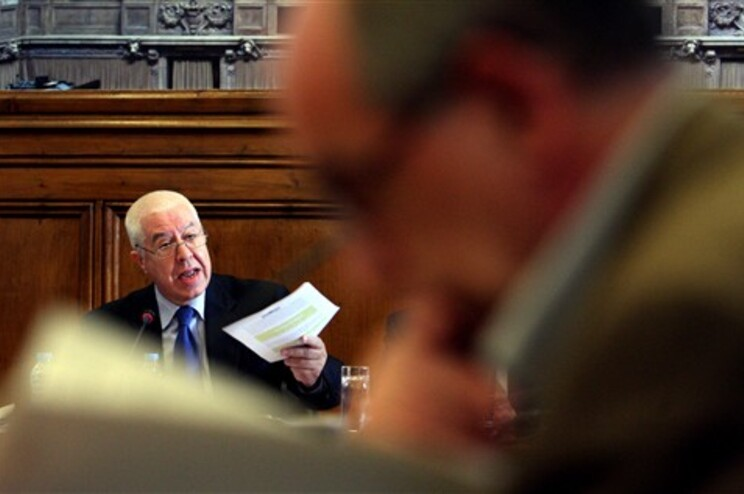 Teixeira dos Santos foi ouvido, esta terça-feira, no Parlamento