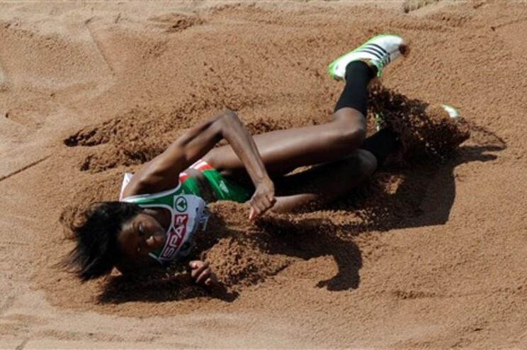 Susana Costa falhou a final do triplo salto por nove centímetros