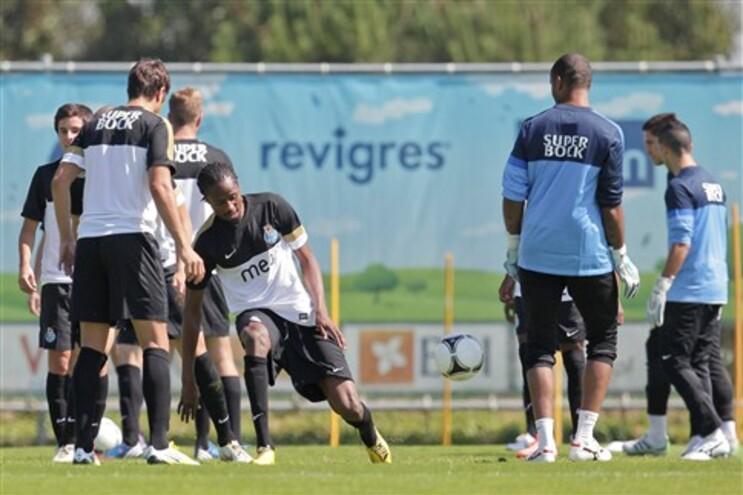 F.C. Porto no regresso ao trabalho