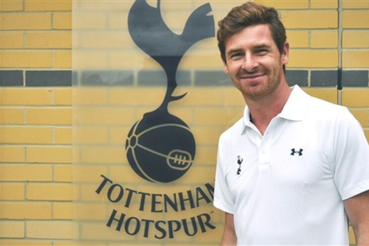 Villas-Boas é o novo treinador do Tottenham