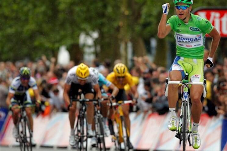 Peter Sagan volta a vencer etapa da Volta a França