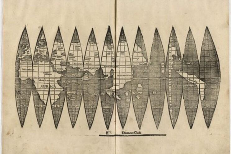 Mapa esteve escondido desde a Segunda Guerra Mundial