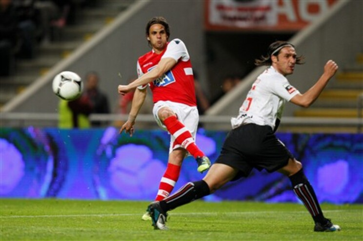 Nuno Gomes alinhou no Braga na última época