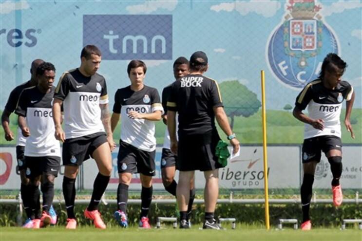F.C. Porto já regressou ao trabalho no Olival