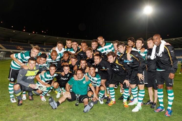 Sporting jogou esta sexta-feira com o Belenenses
