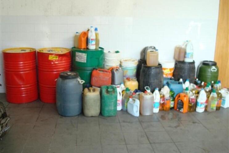 Combustível furtado foi apreendido pela GNR