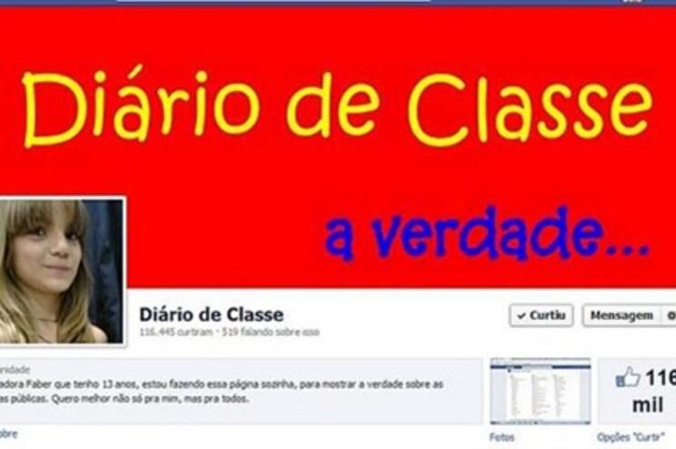 Isadora criou página na Net para denunciar problemas na escola