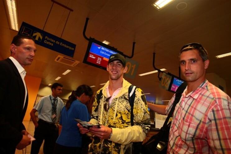 Phelps continua a ganhar, mas agora no póquer