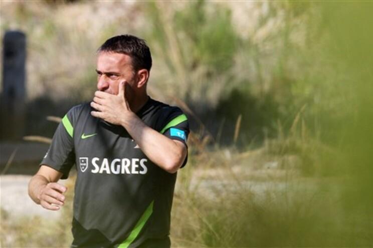 Paulo Bento vai apostar num onze parecido com o do Euro 2012