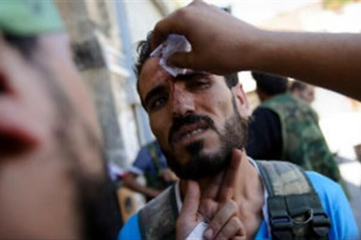 Exército síria suspeito de ter testado armas químicas em agosto