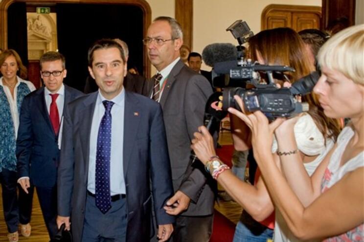 COnselho Económico e Social contraria optimismo de Vítor Gaspar (na foto) sobre a alteração na Taxa Social