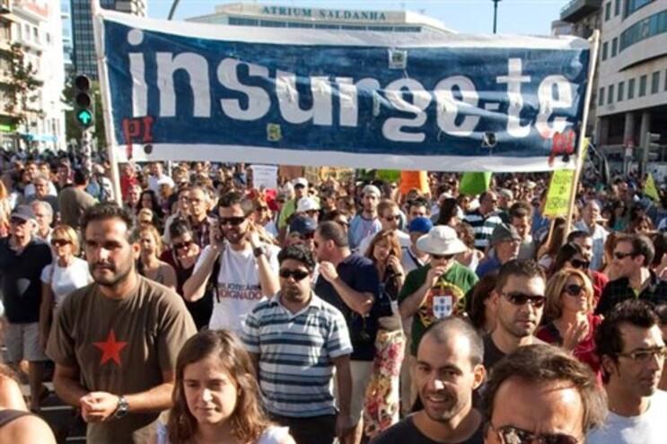 A 15 d setembro, cerca de 1 milhão de portugueses saíram à rua em protesto