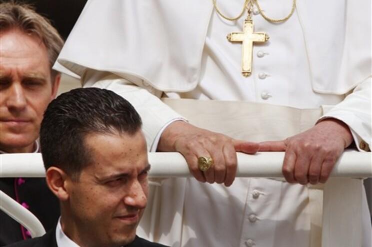 Imagem de arquivo do mordomo do Papa, Paolo Gabriele