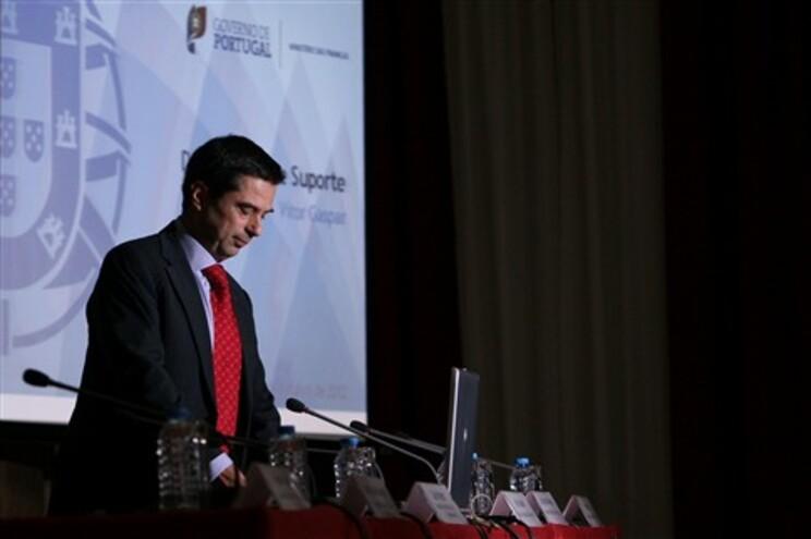 Ministro na apresentação das novas medidas de austeridade