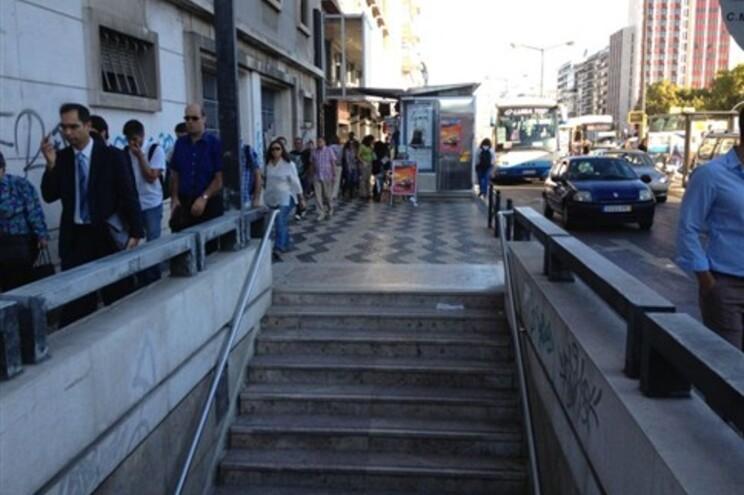 Três greves lançam o caos na hora de ponta em Lisboa