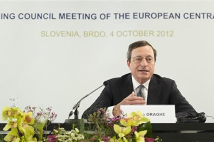 Presidente do Banco Central Europeu (BCE), Mario Draghi