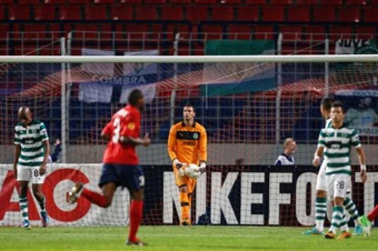 Sporting sofreu derrota com equipa de Paulo Sousa
