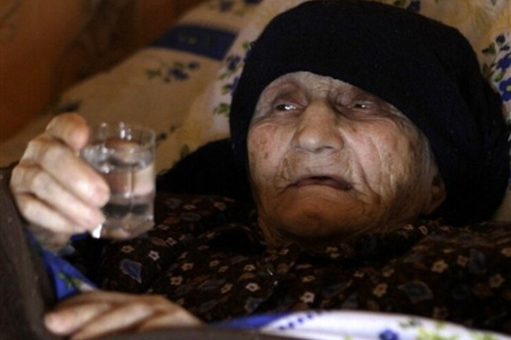 """Antisa Khvichava e o """"segredo"""" da longevidade"""