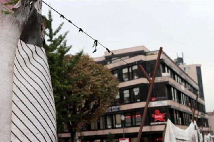 Exposição da Capital da Cultura vandalizada em Braga