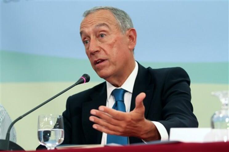 """""""Isto é começar pelo fim, pelo mais fácil. O que está a faltar são as reformas estruturais"""", diz Marcelo"""