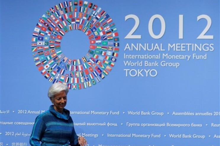 Lagarde no encontro anual do FMI e Banco Mundial