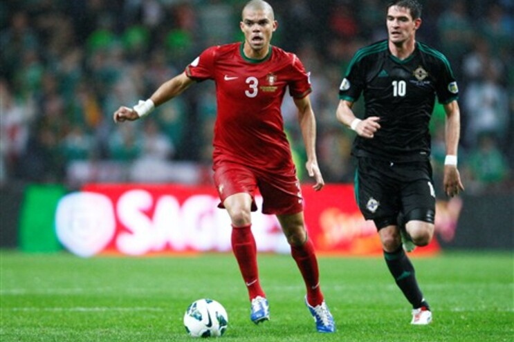 Pepe foi critico no final do jogo