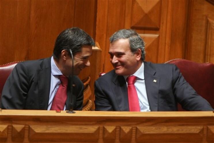 Vítor Gaspar e Miguel Relvas
