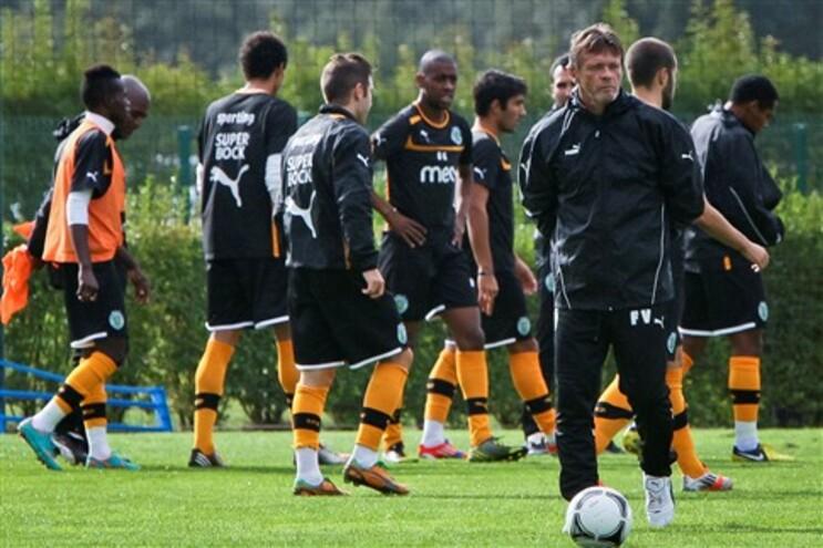 O novo treinador do Sporting, Franky Vercauteren