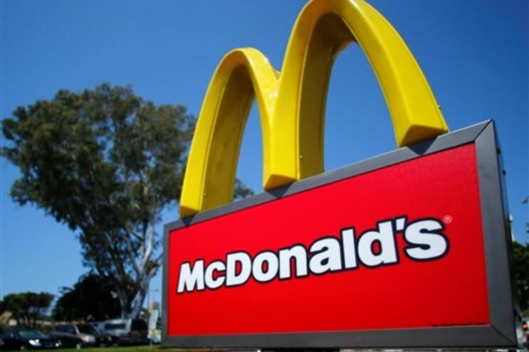 Há quase 10 anos que a McDonald's não tinha uma quebra de vendas