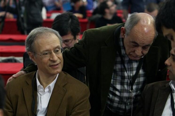 Francisco Louçã e João Semedo (à direita)