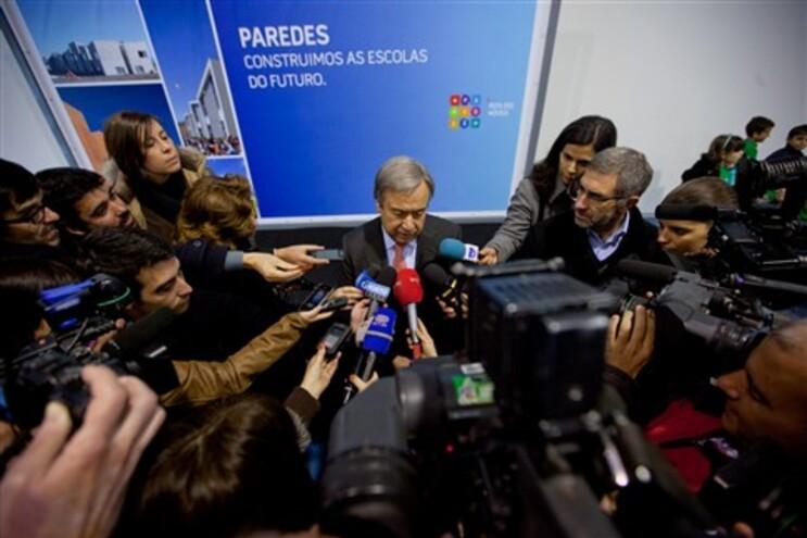 Antonio Guterres inaugurou o novo centro escolar de Sobreira, em Paredes