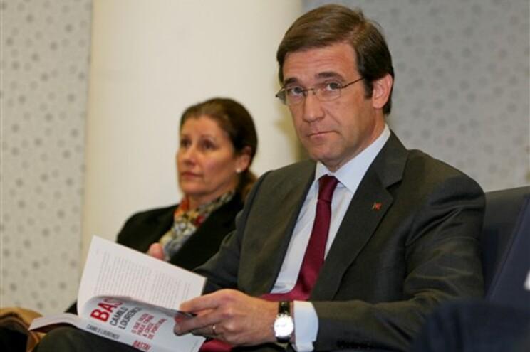 Portugal não quer tratamento igual ao da Grécia, diz Passos Coelho