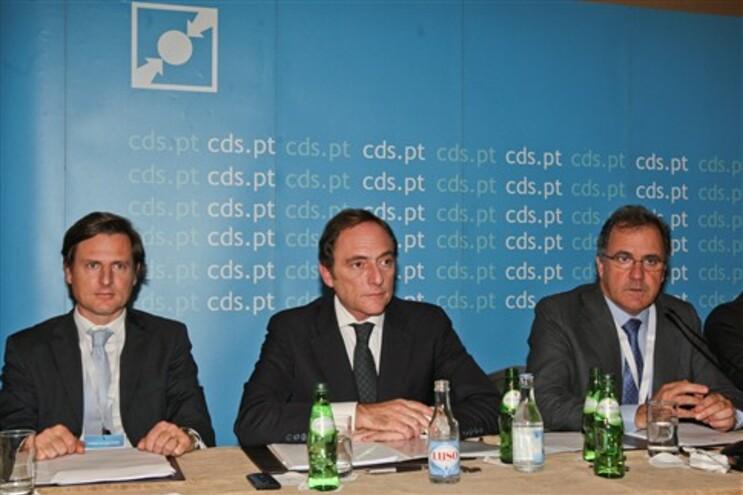 Paulo Portas no Conselho Nacional do CDS-PP