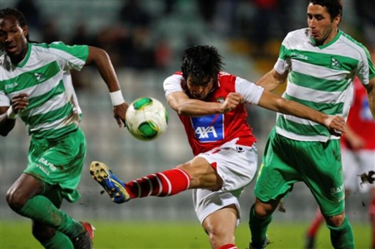 Braga vira resultado com a Naval e lidera Grupo B da Taça da Liga
