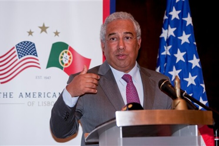 António Costa esteve esta quinta-feira com o American Club of Lisbon