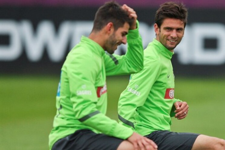 Nélson Oliveira e Hélder Postiga de novo juntos na seleção