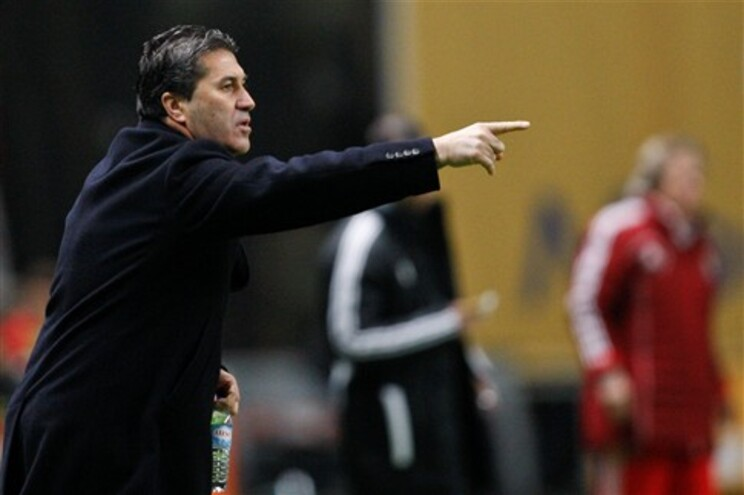José Peseiro, treinador do Sporting de Braga