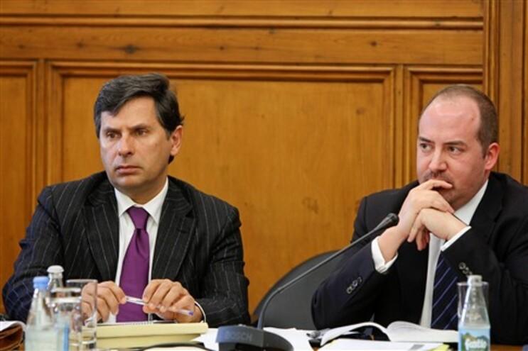 Pedro Roque e o ministro Álvaro Santos Pereira