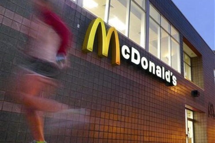 McDonald's em Oslo é mais sujo do que casas de banho