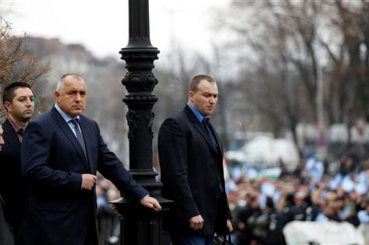 Boiko Borissov não assistiu aos debates, mas estava presente na altura da votação parlamentar