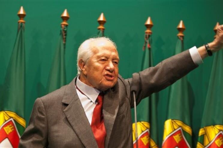 Mário Soares esteve internado num hospital lisboeta de 12 a 21 de janeiro