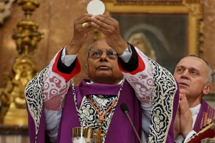 Cardeal do Sri Lanka Albert Malcolm Ranjith