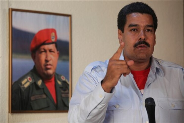 Nicolás Maduro, presidente interino da Venezuela
