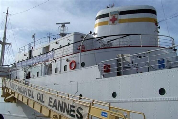 O Navio-hospital Gil Eannes deu apoio à frota bacalhoeira portuguesa e agora acolhe um museu