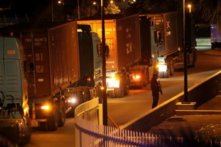 Polícia vigiou camiões que transportaram dinheiro